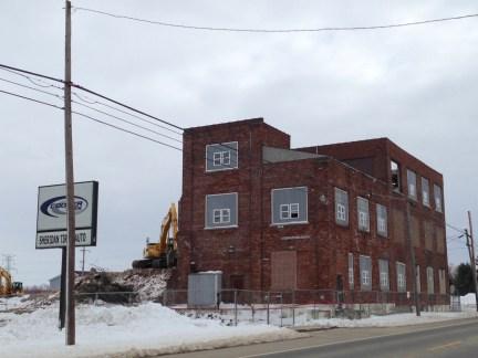 Condensery main building demolition