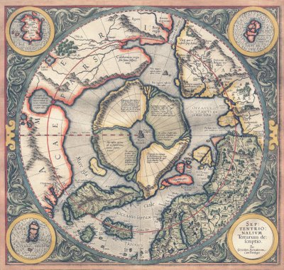 Mercators Map of the Arctic