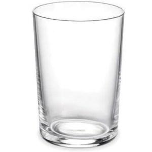 Bicchiere in vetro extrachiaro trasparente Inda Export