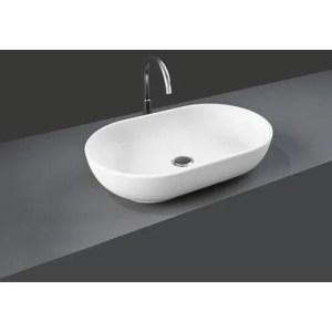 Lavabo bacinella da appoggio ovale 55x35 RAK-MOON