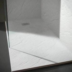 Piatto doccia ultra flat effetto pietra Natural Stone Matt