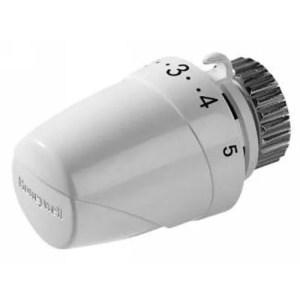Testa termostatica T2001W0 con attacco M30x1,5 ed elemento sensibile a liquido Honeywell