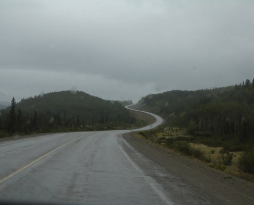 Alaska Highway from Watson Lake to Whitehorse