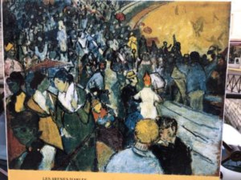 Vincent van Gogh's painting Arena