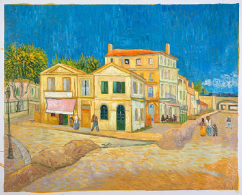 Vincent's The Yellow House Painting