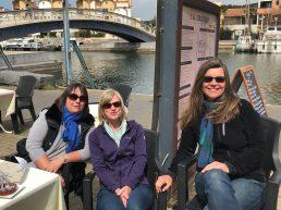 Carcassonne-April-2019-Ger-Gruissan-lunch-Emma-Geri-Vibeke