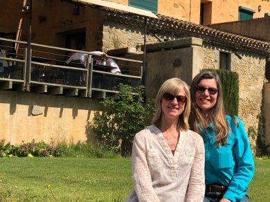 Carcassonne-April-2019-Geri-lunch-at-Domaine-d'Auriac