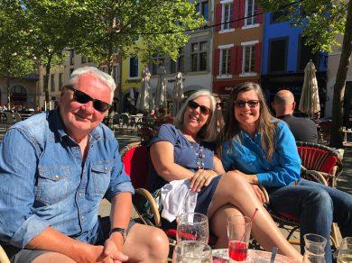Carcassonne-April-2019-apres-French-lessons