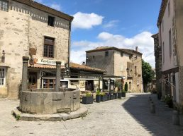 Carcassonne's walled city Le Grand Puits