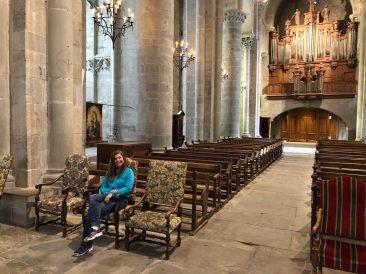 Carcassonne's walled city Basilica Saint Nazaire