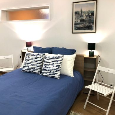 roomy bedroom in apartments for rent in Carcassonne