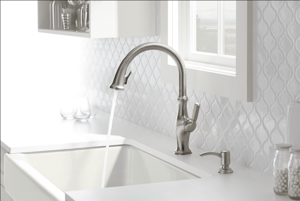upgrade to a kohlers kitchen faucet