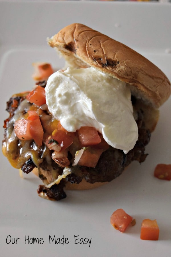 Easy burger sliders with a fun take! They are super easy and yummy! Click to see the recipe!