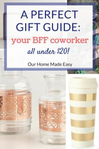 Gift Guide: Ideas for your BFF Coworker