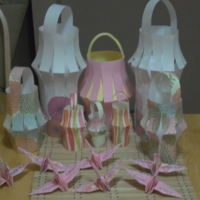 Tutorial: How to Make Paper Chinese Lanterns