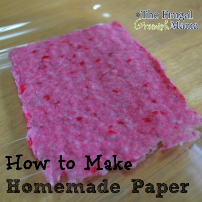 How to Make Your Own Paper