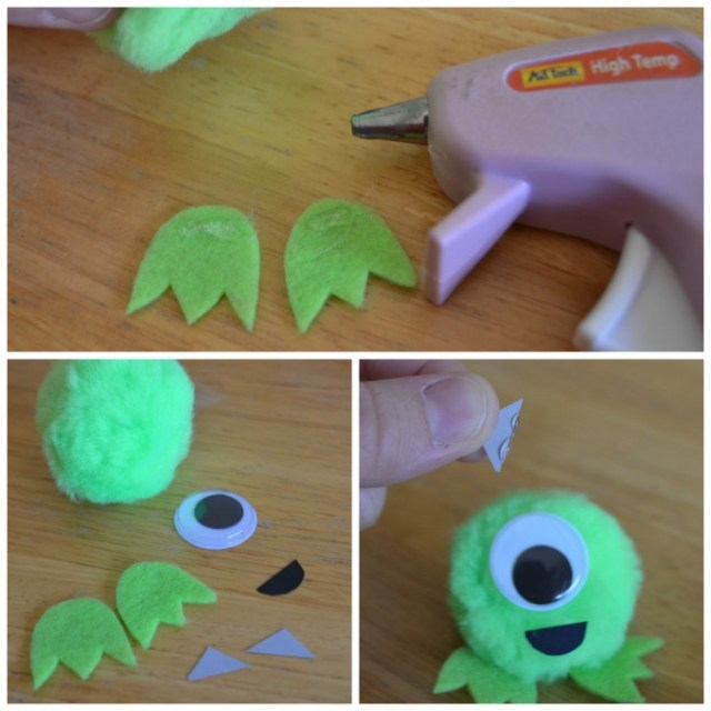 Disney Pixar Monsters University 3 Piece Room In A Box: Monsters U In Theaters & Easy Pom Pom Mike Craft