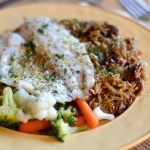 Easy Dinner Recipes: Skillet Orzo with Herb Fish