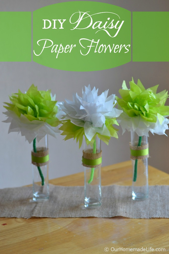 How to make paper flowers from tissue paper our homemade life how to make paper flowers from tissue paper mightylinksfo