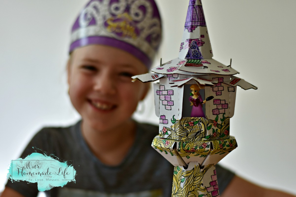 Disney Princess Pley Box Rapunzel Tower