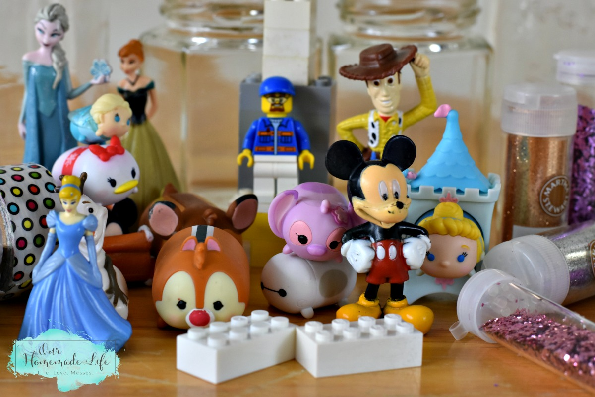 Disney Toys and Legos