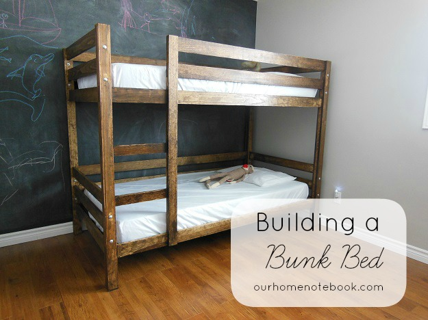 bunk bed building plans designs