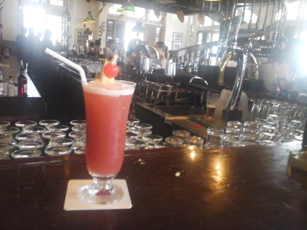 You can find the original Singapore Sling at The Long Bar in Raffles Hotel Singapore