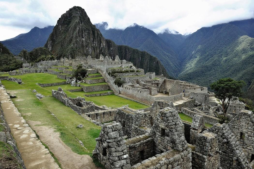 A closer look at the ruins