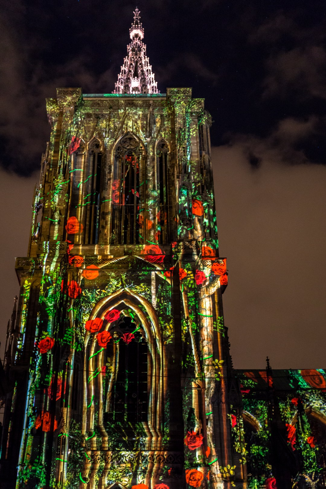 Cathedrale Notre Dame Strasbourg Light show