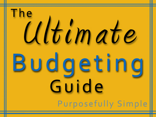Ultimate Budgeting