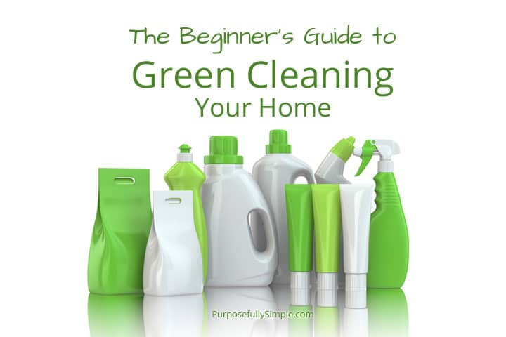 Learn how I use green cleaning to avoid toxic household cleaners and keep my family safe. Recipes for homemade cleaners and the best brands to buy.