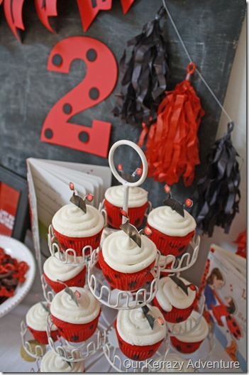 Lady Bug Girl Cupcakes Our Kerrazy Adventure