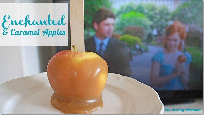 Enchanted Movie Treat Caramel Apples