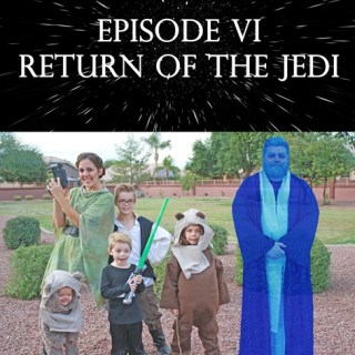 Return of the Jedi Family Halloween Costumes