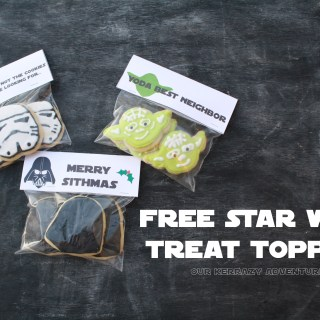 Free Star Wars Treat Topper