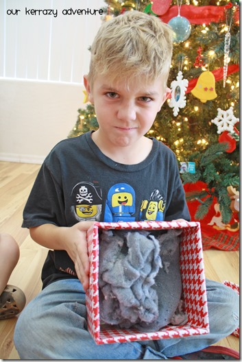 Helping kids to be thankful for what they get. The Christmas Gift Game