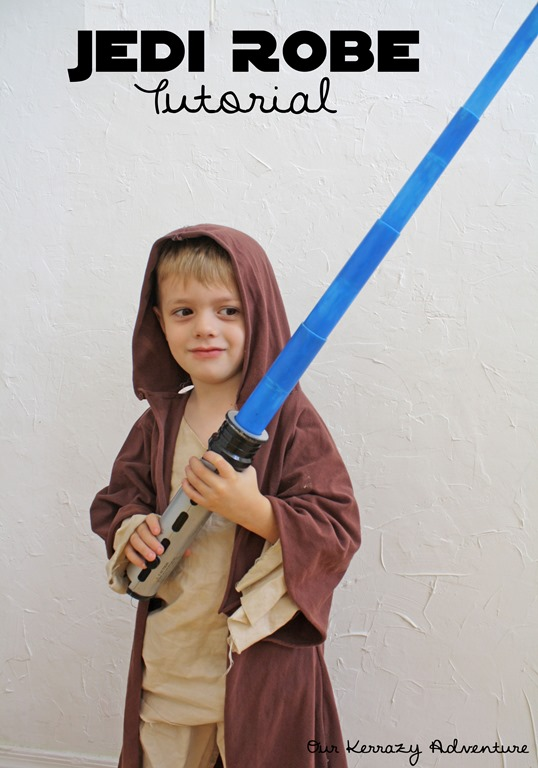 Jedi robe tutorial our kerrazy adventure jedi robe tutorial star wars costume our kerrazy adventure solutioingenieria Images