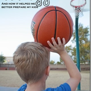The Basketball Analogy: A lesson in Parenting