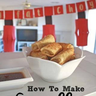 Eggroll Recipe
