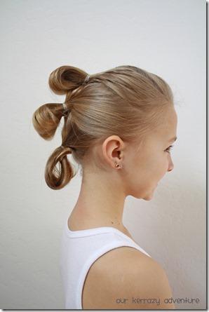 Star Wars Hair Style Tutorial
