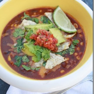 The Easiest Taco Soup Recipe