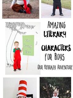 Favorite Boy Literary Costumes