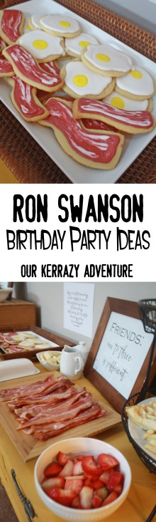 Ron Swanson Birthday Party Ideas- Parks and Rec Birthday Party copy