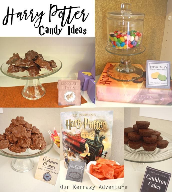 Candy Ideas HoneyDukes Harry Potter Party