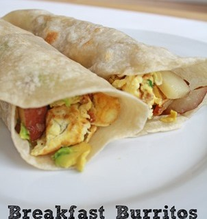 Breakfast Burritos: Easy Dinner Idea
