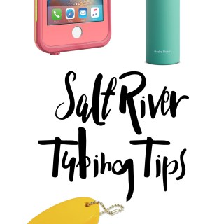 Salt River Tubing Tips