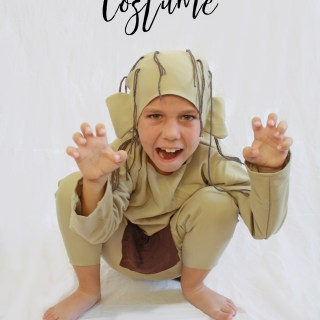 DIY Gollum Costume Tutorial