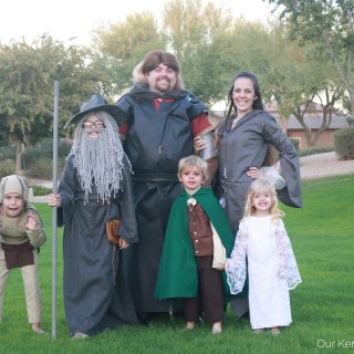 Lord of the Rings Family Costume Ideas