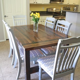 DIY Dinning Room Chair Makeover