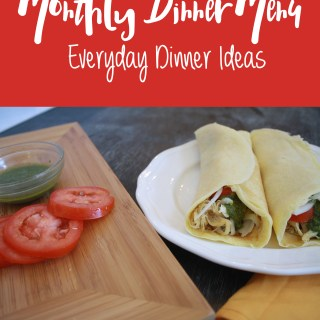 February Monthly Menu: 28 Dinner Ideas